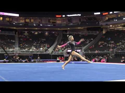 Olivia Dunne - Floor Exercise – 2020 Nastia Liukin Cup