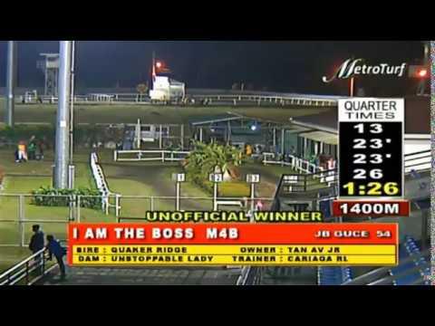 I AM THE BOSS - FEBRUARY 26, 2020 - MMTCI RACE 6 BAYANG KARERISTA HORSE RACING REPLAY AT METRO TURF