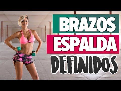 TONIFICAR BRAZOS Y ESPALDA: elimina rollitos | Back and Arms Workout