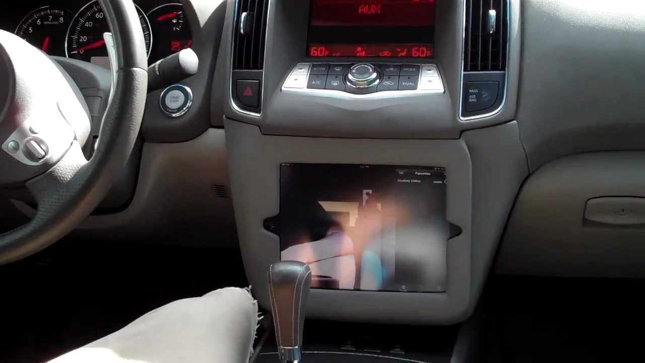 Ultra Audioworks Ipad 2 Install 2009 Nissan Maxima Youtube
