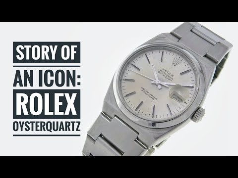 Story of an Icon: Rolex Oysterquartz