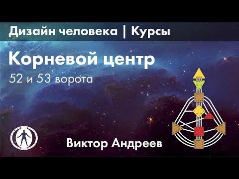 КОРНЕВОЙ ЦЕНТР В ДИЗАЙНЕ ЧЕЛОВЕКА. 52 И 53 ВОРОТА