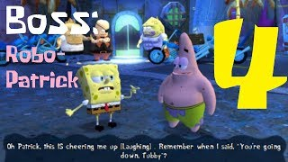 SpongeBob's Truth or Square (PSP) [4K]  Part 4 - Level 4 [Pretending To Be Tough With Patrick]