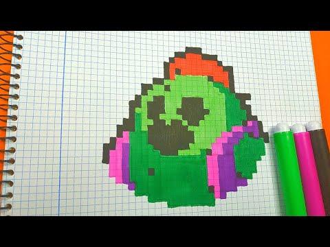 Como Dibujar a SPIKE de BRAWL STARS | Pixel Art Tutorial thumbnail