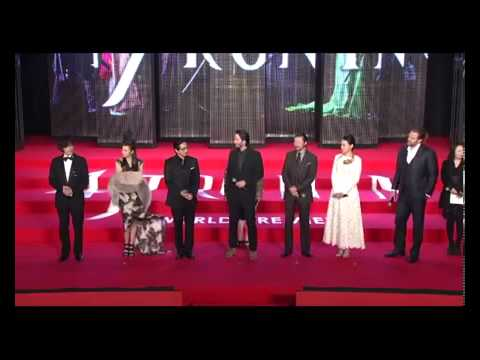 47 Ronin Group Q and A at World Premiere in Japan