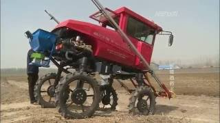 AIDI self propelled farm boom sprayer-special for paddy field, muddy land and all environment