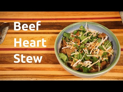 How to Cook a Beef Heart [Curried Beef Heart Stew]