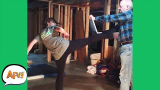 She Didn't Even HIT The BOARD! 😂 | Funny Videos | AFV 2020