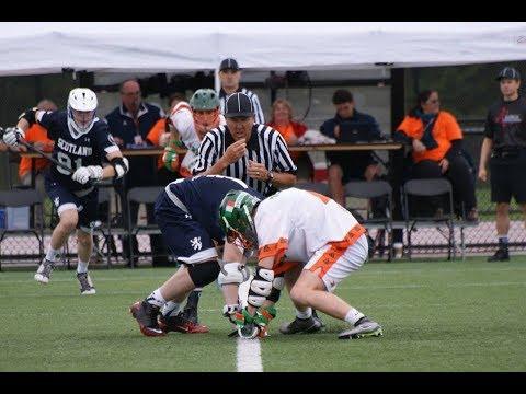 U'19 Scotland Lacrosse vs Ireland - 1st Quarter
