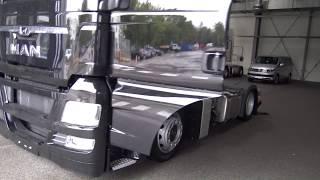 Забираем новый тягач c завода MAN в Мюнхене