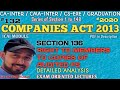 """132   SECTION 136, """"RIGHT TO MEMBERS TO COPIES OF AUDITED FS""""   COMPANIES ACT 2013   ICAI MODULE"""