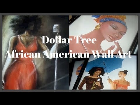 Dollar Tree New Finds - Full 24 Piece Set African American Wall Art