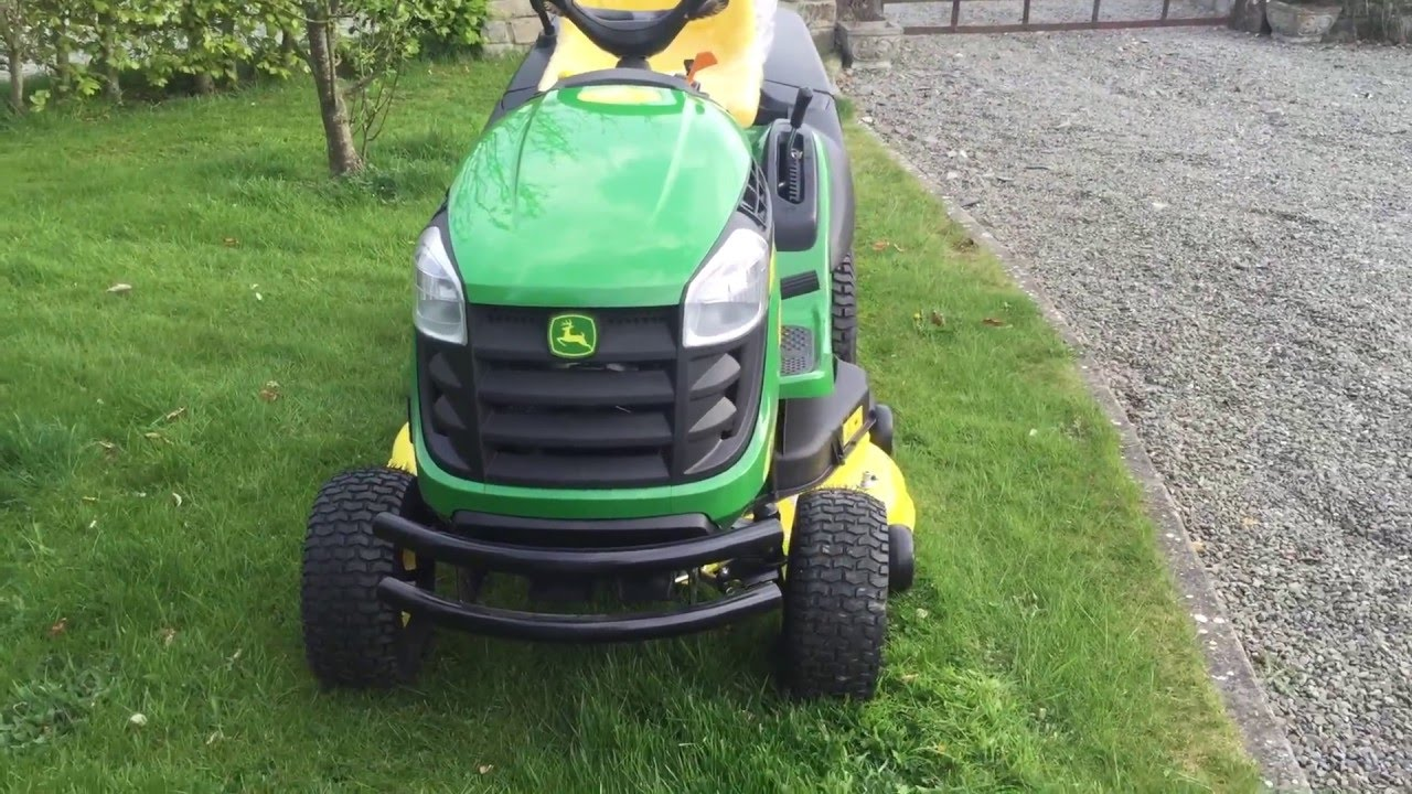john deere x155r full preview - youtube