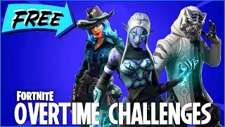 LIVE NOW - OVERTIME CHALLENGES TODAY (OUT NOW!!) - NO FREE BATTLE PASS FOR SEASON 9 - FORTNITE