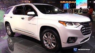 2019 Chevrolet Traverse - Exterior and Interior Walkaround - 2019 Detroit Auto Show