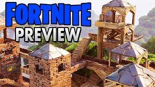Fortnite Gameplay German Preview - Eine Leiter zum Himmel