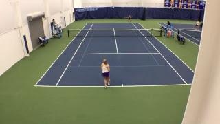 Women's Tennis vs Lipscomb (Singles Court 4)