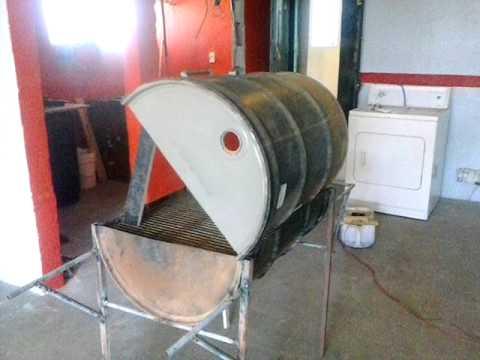 Como hacer asador de barril youtube - Como hacer un toldo casero ...