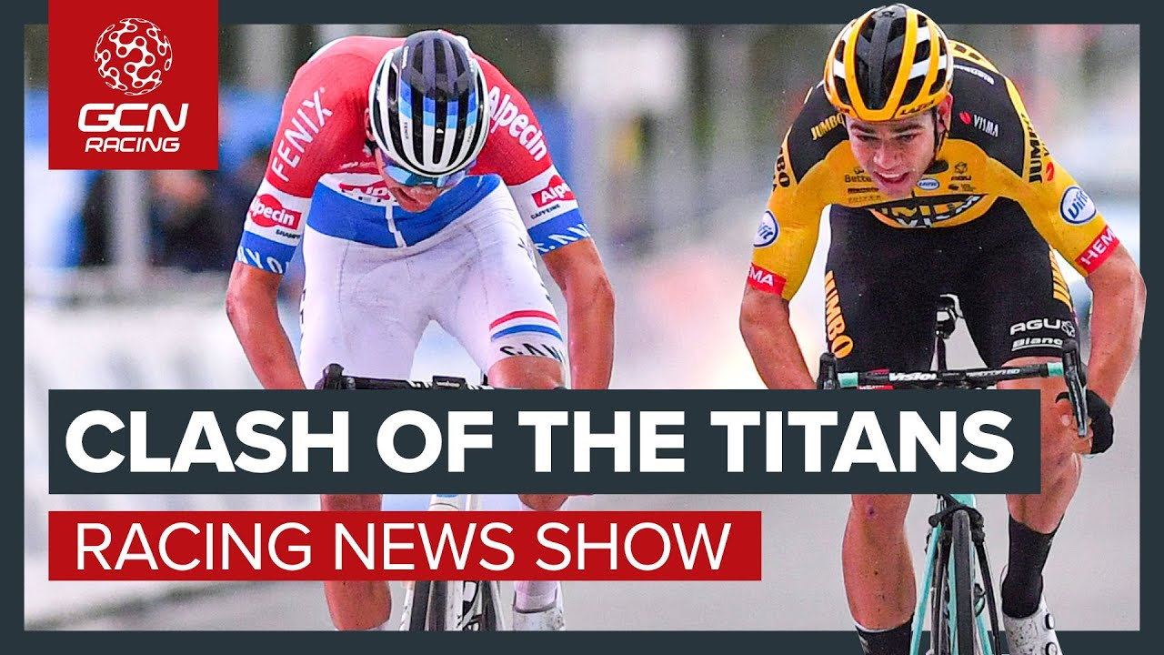 Clash Of The Titans - Van der Poel Vs Van Aert At The Tour Of Flanders + More! | GCN Racing News