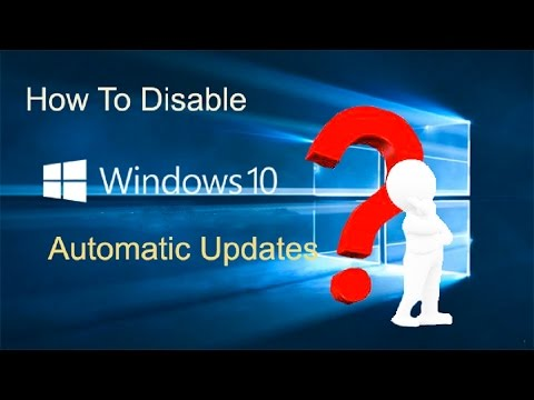 how to stop windows updats