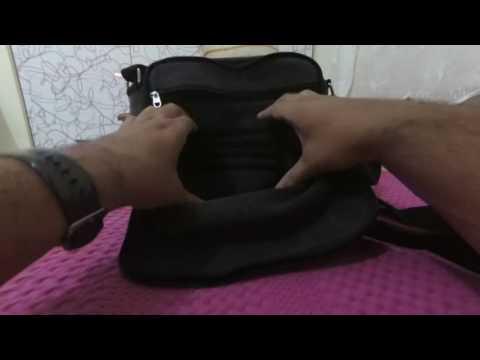 Ru YiHuang Men Canvas Casual Cross Body Single Shoulder Bag