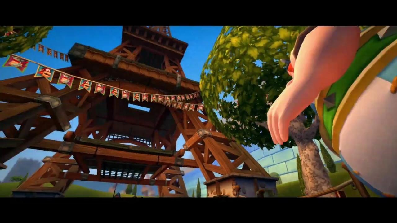 Asterix Obelix Xxl2 Launch Trailer Xbox One Youtube
