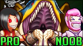 NEW ULTIMATE TIGREX VS ENDLESS ALE - Pro and Noob VS Monster Hunter World Iceborne! #proandnoob