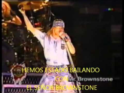 Guns N Roses   Mr Brownstone subtitulado al español