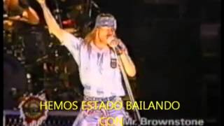 Guns N Roses   Mr Brownstone subtitulado al español