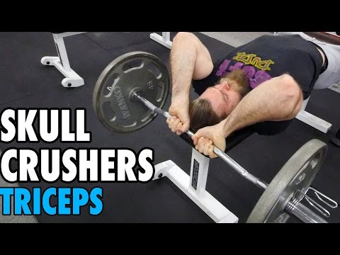 Skull Crushers   Triceps   How-To Exercise Tutorial