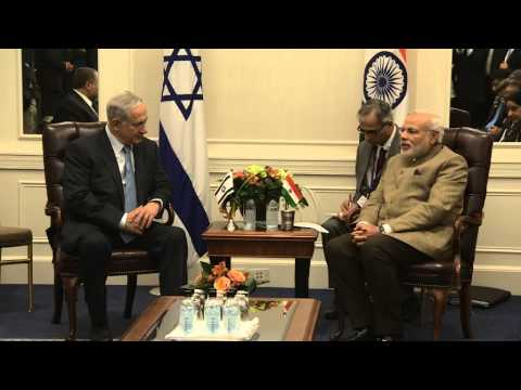 PM Netanyahu's meets with PM of India