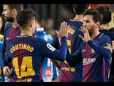 Barcelona 6 x 1 Girona - Highlights and goals - La Liga 24/02/2018