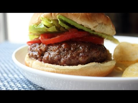 Grilled Bacon Meatloaf Burger - How to Make Bacon Meatloaf Burgers
