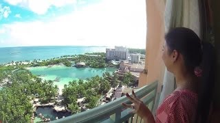 Walking Tour of Atlantis Paradise Island Nassau Bahamas HD