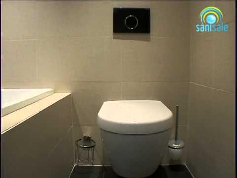 geberit sigma 10 bedieningsplaat youtube. Black Bedroom Furniture Sets. Home Design Ideas