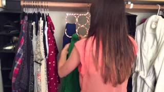 Big Sister Solutions Scarf Hanger - Demonstrating Best Way to Use a Scarf Hanger