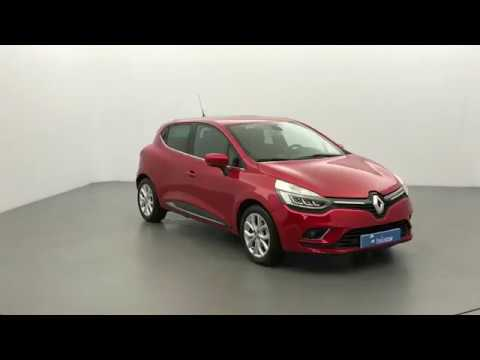 renault clio 4 rouge flamme vendue par briocar en bretagne rennes youtube. Black Bedroom Furniture Sets. Home Design Ideas