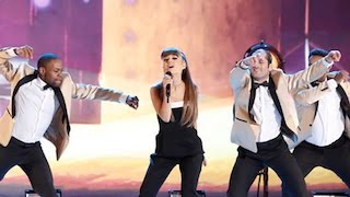 Ariana Grande's Performance On 'The Voice' Finale Was Incredible