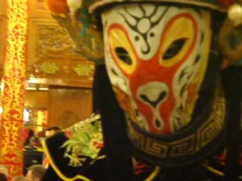 Face Changing Chinese performer