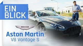 Aston Martin V8 Vantage S Roadster 2012 Mehr Als Nur 007 Flair Youtube