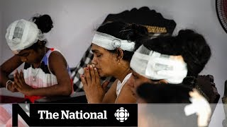 Sri Lanka prays for calm a week after bomb attacks