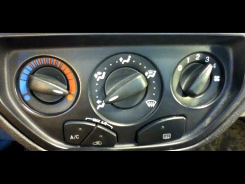 How To Bypass Blend Control 2006 Ford Focus - YouTube