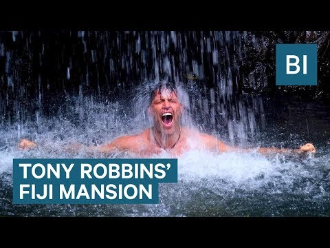 Tony Robbins takes us on a private tour of his massive beach