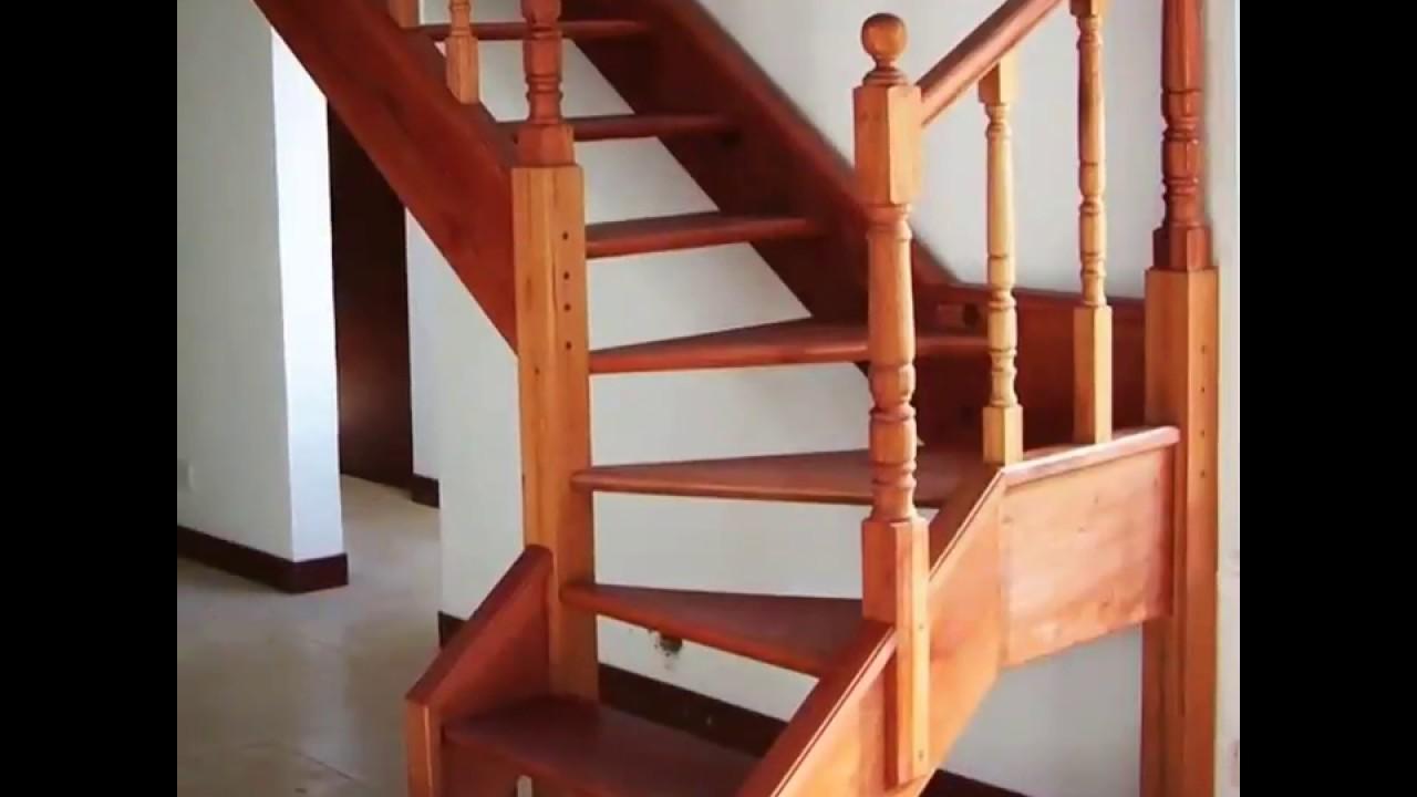 Modelo de escaleras que se puede utilizar en espacios reducidos youtube - Escaleras de interior para espacios reducidos ...