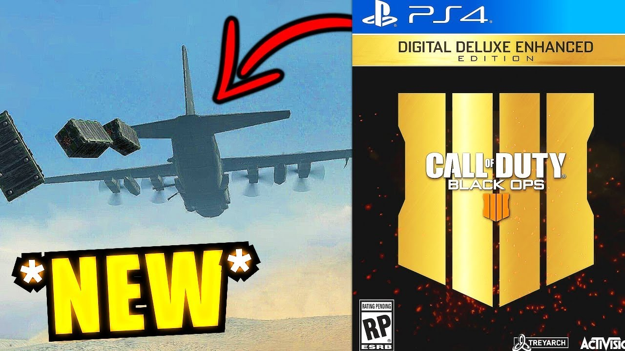 Big (BLACK OPS 4) Leaks:  Jets in BLACKOUT & 14 Vehicles! - BO4 Blackout Beta Info