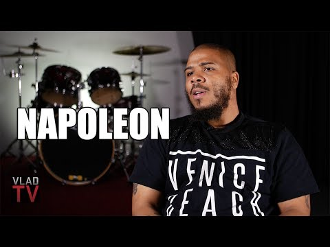 Napoleon (Outlawz) on 2Pac & BIG Running Into Each Other at Height of East West Beef