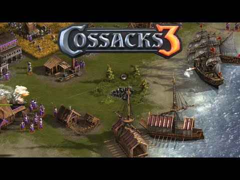 Cossacks 3 Gameplay - England Gameplay - Cossacks 3 3vs3 Teams
