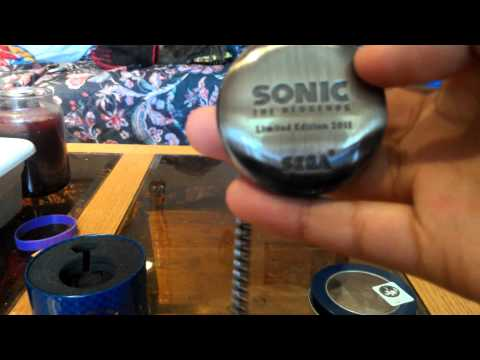Sonic 20th anniversary pocketwatch unboxing!