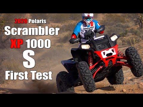2020 Polaris Scrambler XP 1000 S Test Review