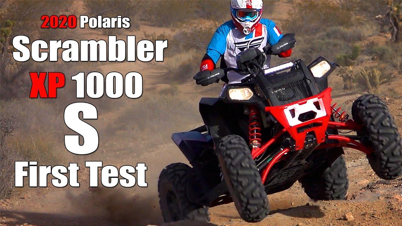 2020 Polaris Scrambler Xp 1000 S Test